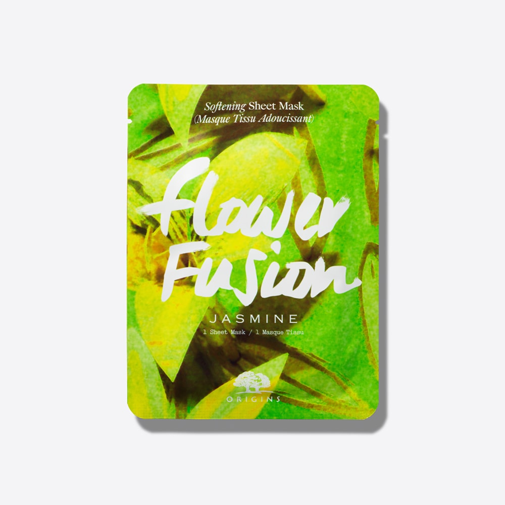 Flower Fusion Jasmine Softening Sheet Mask Origins