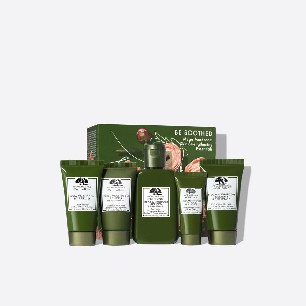 Be Soothed Mega-Mushroom Skin Strengthening Essentials