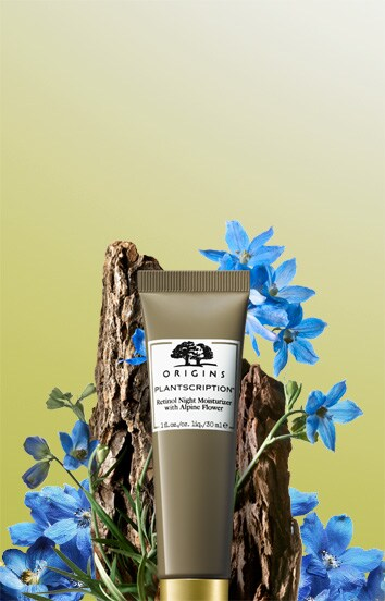 Visibly diminish pores, lines & uneven skin tone. NEW Plantscription Retinol Night Moisturizer